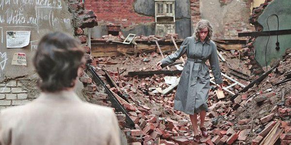 Nelly in the rubble of postwar Berlin