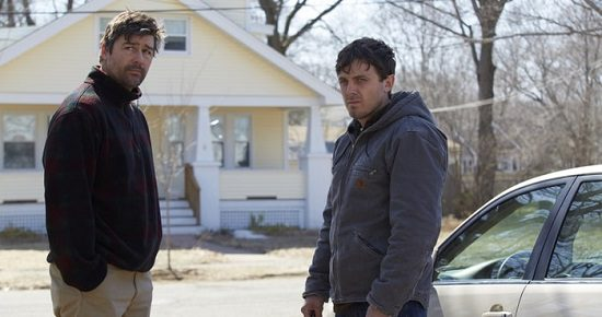 """Kyle Chandler and Casey Affleck, in """"Manchester by the Sea"""""""