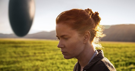 "Amy Adams, as Louise Banks, in ""Arrival"""