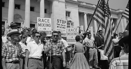 "An image of the other side of the Civil Rights Movement, as seen in ""I Am Not Your Negro"""