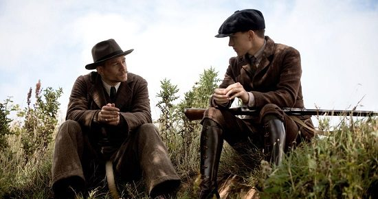 """Father and son: Percy and Jack (Tom Holland) in """"The Lost City of Z"""""""