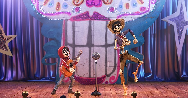 Miguel and Hector, in the Land of the Dead