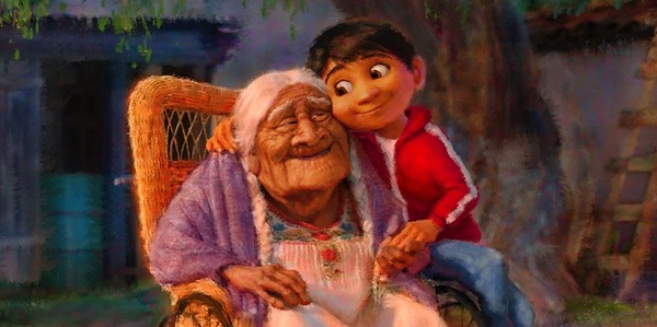 """Coco and Miguel, together in """"Coco"""""""