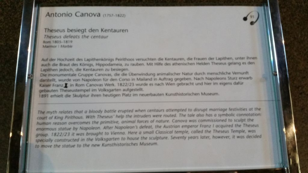 The Kunsthistorische Museum Greco Roman Holdings Ben Witherington