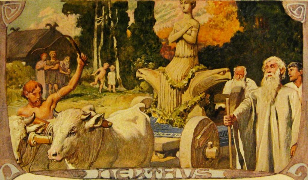 Nerthus by Emil Doepler (1905)