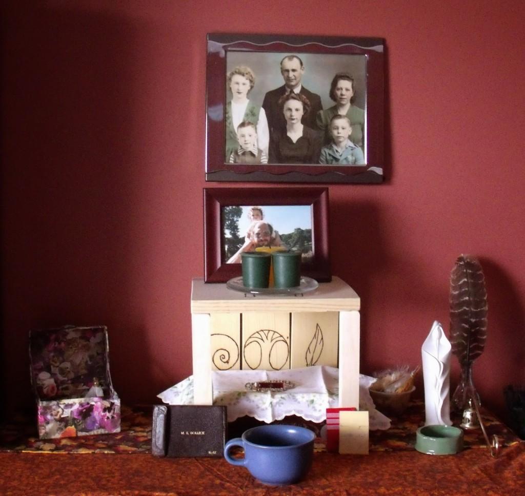 my current ancestor altar