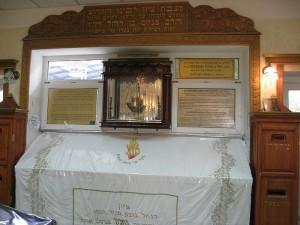 The grave of Rabbi Nachman of Breslov in Uman, Ukraine.