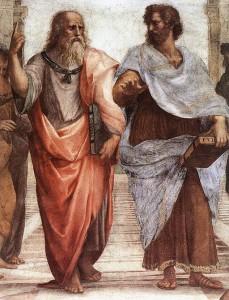 512px-Sanzio_01_Plato_Aristotle