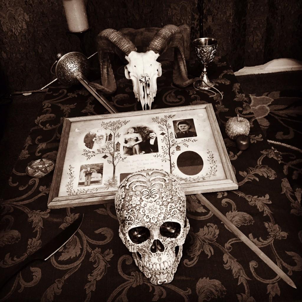 Our Samhain Altar