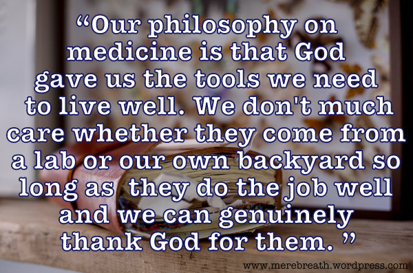 Medical Method Wars and Christianity
