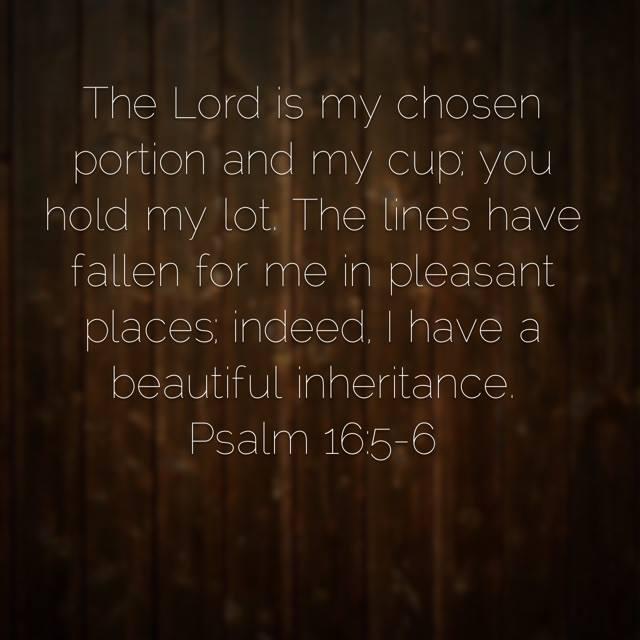 Psalm 16:5-6 | Mere Breath