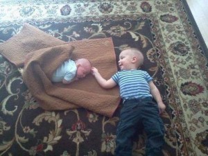 Liam and Jude (2012). They are 17 months apart and were both unplanned blessings. I wouldn't change a thing!!