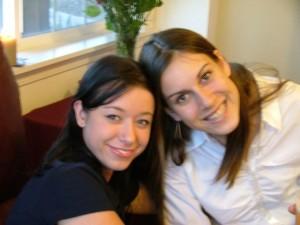 Abra and Stephanie 2004