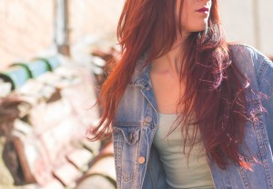This isn't me, but I like her hair and I love my jean jacket that look similar. We are supposed to put a picture here, so here it is. Enjoy. It is courtesy of Pexels. Neat, huh?