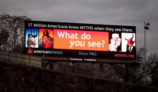 Another Sign Of Christmas Billboards From Atheists