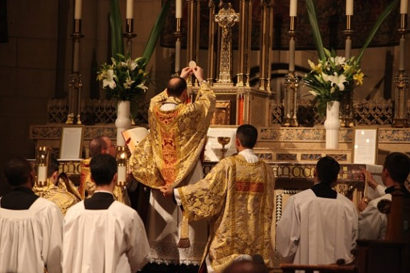 New York ordains just one priest — and his first Mass is in