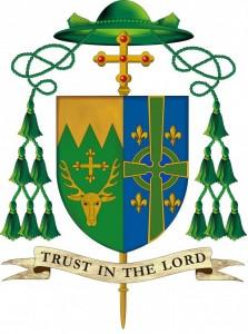 coat of arms msgr. coyne bishop of burlington