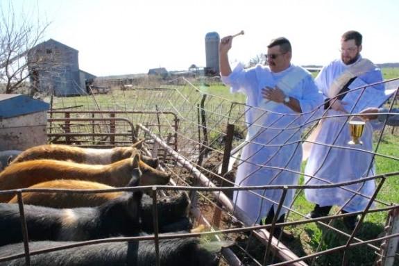 Iowa deacons revive farm blessings