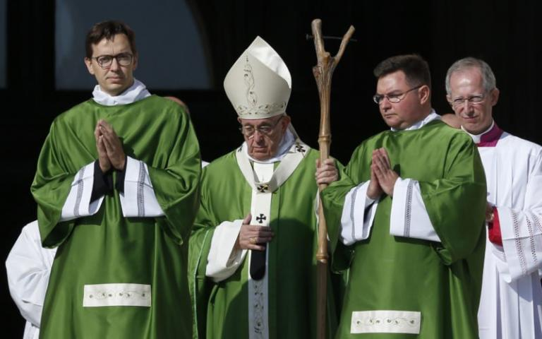 What's that stick the pope was carrying?' | Deacon Greg Kandra