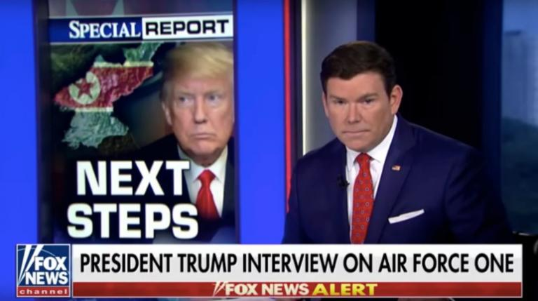 Brett Baier will begin Election Day with a prayer at St