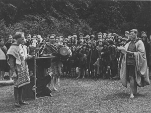 A ceremony at the Kibbo Kift Althing 1927. Photo by the Kibbo Kift Foundation via Wikimedia Commons.