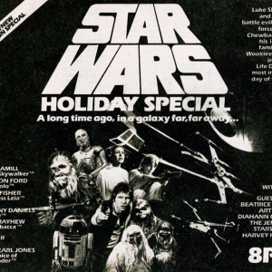 TV Guide ad for the special. Via StarWarsHolidaySpecial.com, fair use