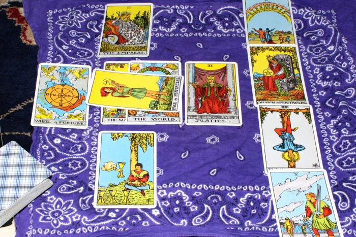 A New Year's Tarot reading
