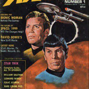 Starlog #1 cover. Image via Internet Archive. Fair use.