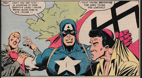 Random Wednesday Captain America S Love Of Free Speech