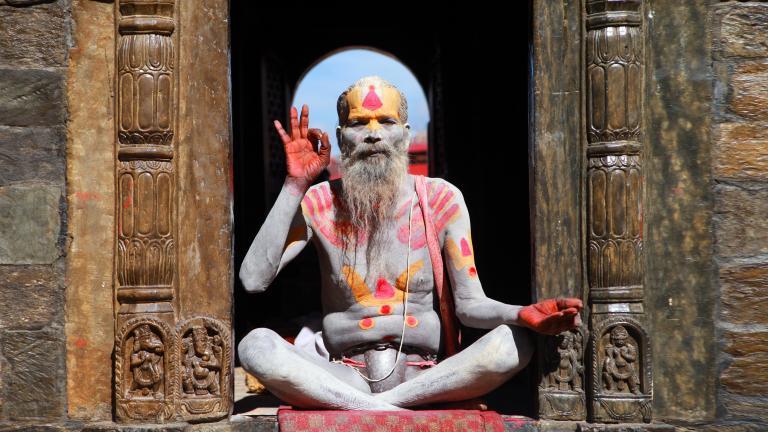 photo: Kathmandu saddhu