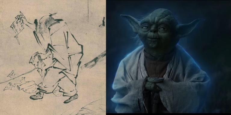 article image: Hui Neng and Yoda