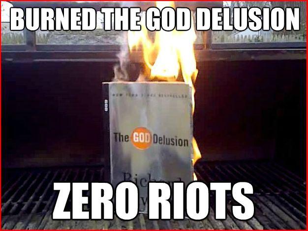 Burned The God Delusion IX