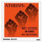No Masters sticker