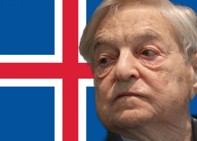 George Soros dominates Iceland.