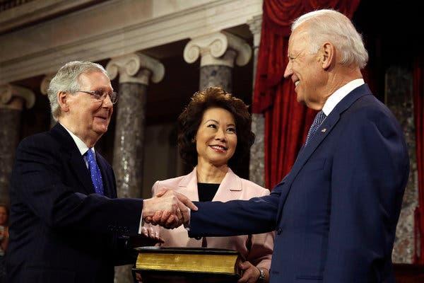 Will Mitch McConnell be Biden's running mate?