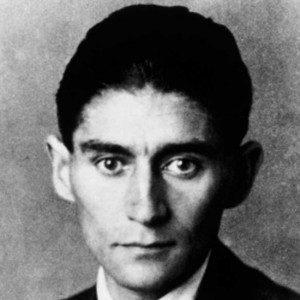 The Jewish, German, Czech writer Franz Kafka (1883-1924). Credit: Kafka Museum, Parague ,