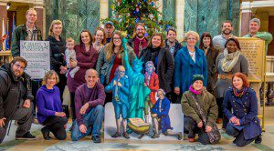 Reason's greetings from FFRF's staff. (Photo: Chris Line)