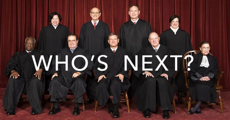 SCOTUS WHO'S NEXT