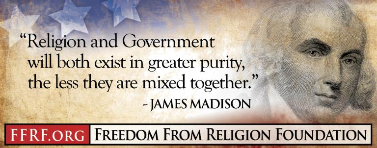 James madison exist in greater purity