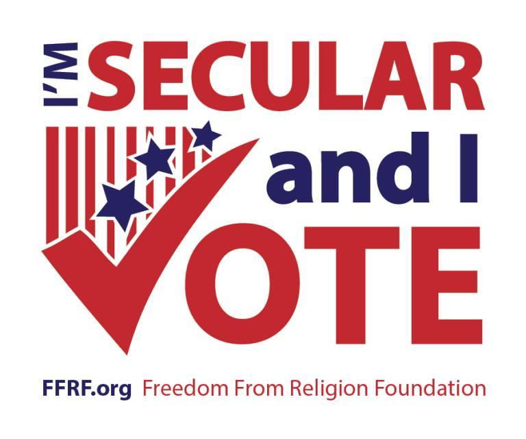 I'm Secular & I Vote