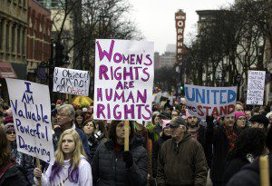 1ChrisLineWomensMarch