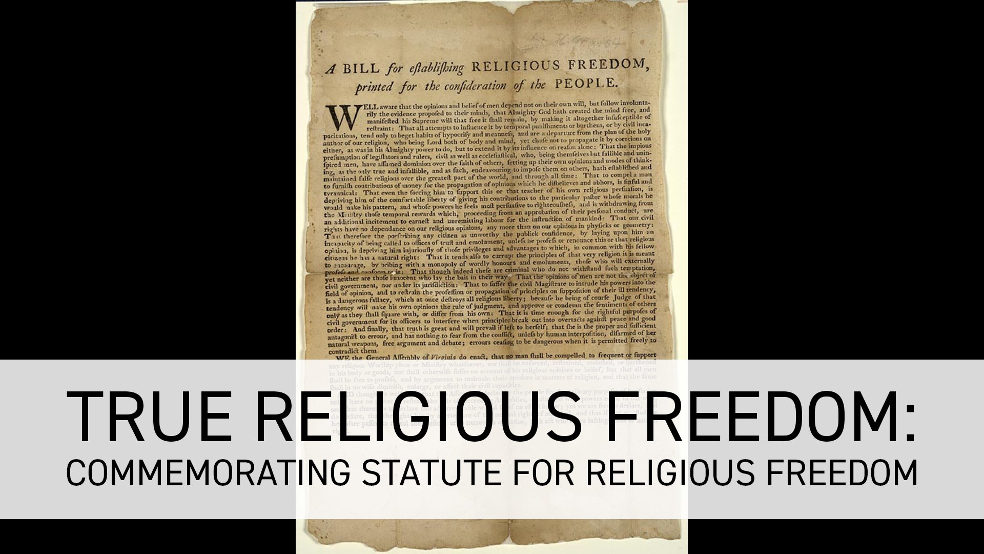 Join us on FFRF's Facebook page, Wednesday at noon central time for Ask An Atheist. This week, we'll discuss this important Virginia law.