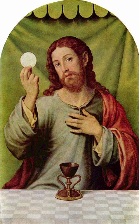 EucharistJesus