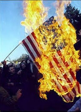 FlagBurning