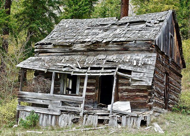 Hut Shack Wooden Rustic Building Rural Ramshackle