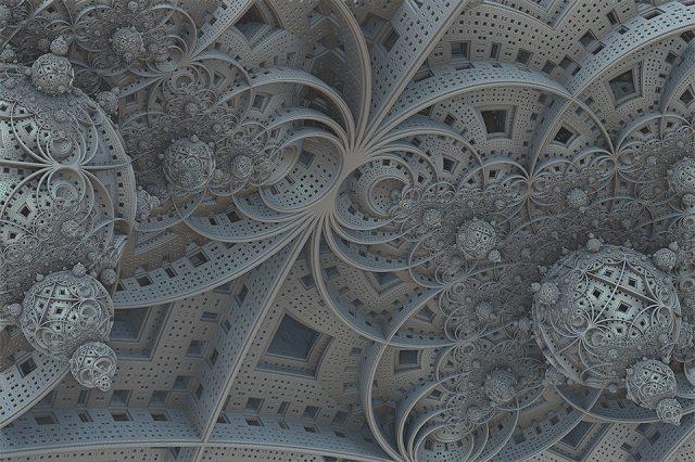 Fractal Fantasy 3d Design Spheres Futuristic