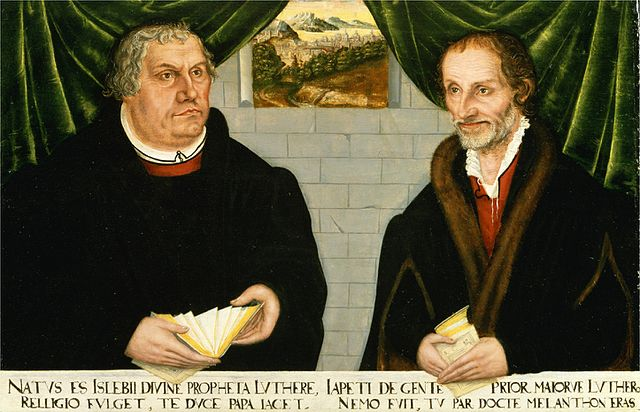 LutherMelanchthon2