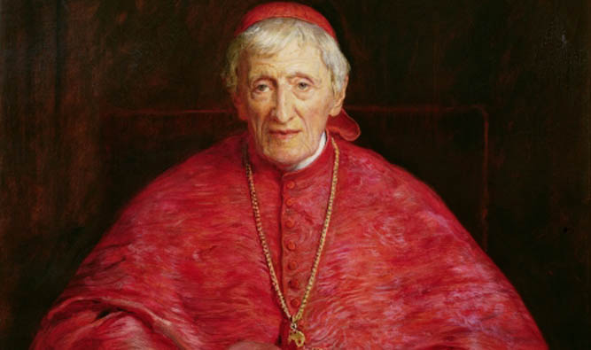 BBC199371 Credit: Portrait of Cardinal Newman (1801-90) (oil on canvas) by Millais, Sir John Everett (1829-96) National Portrait Gallery, London, UK/ The Bridgeman Art Library Nationality / copyright status: English / out of copyright