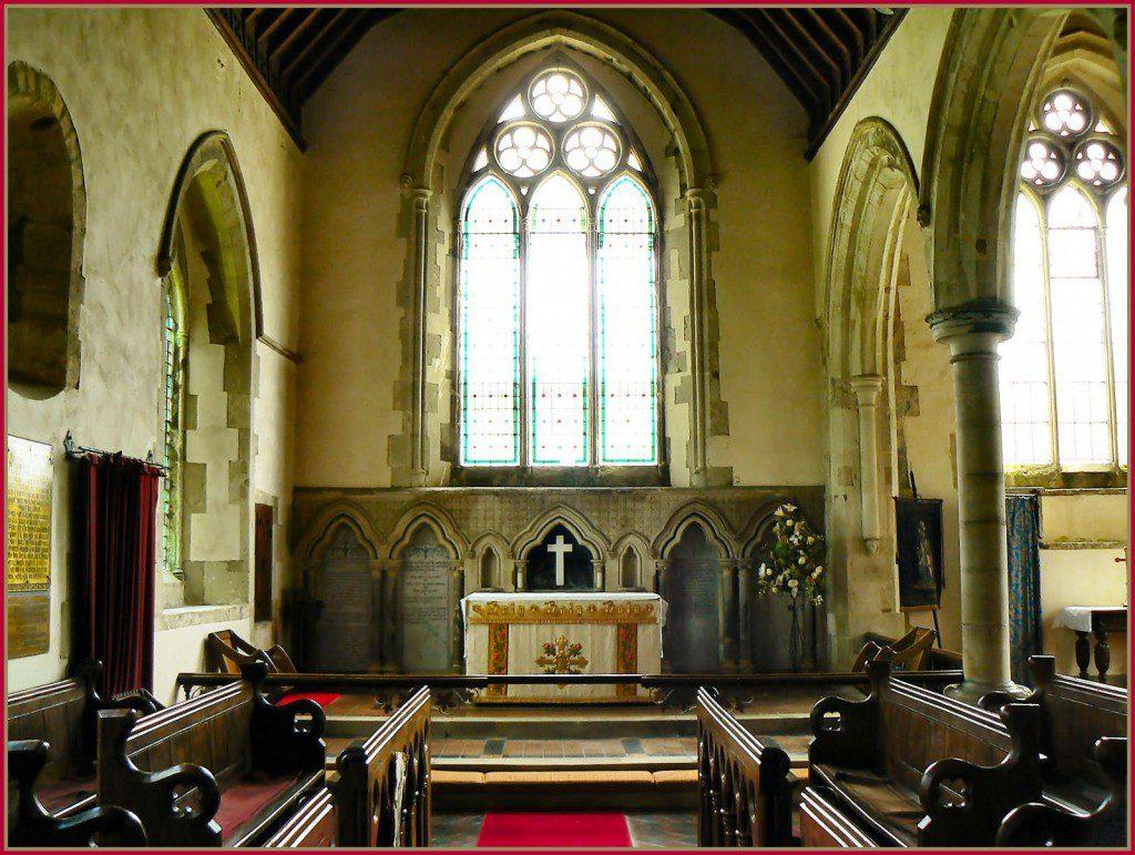 Arreton Church. Credit: Ronald Saunders.
