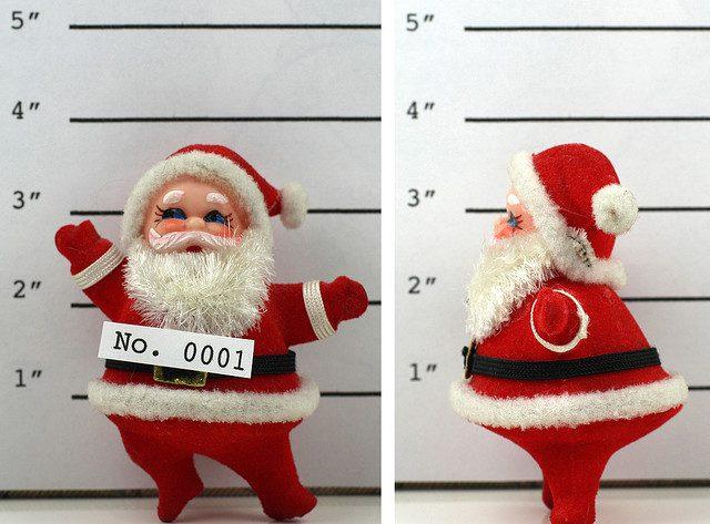 Wanted Santa. Photo: Kevin Dooley.